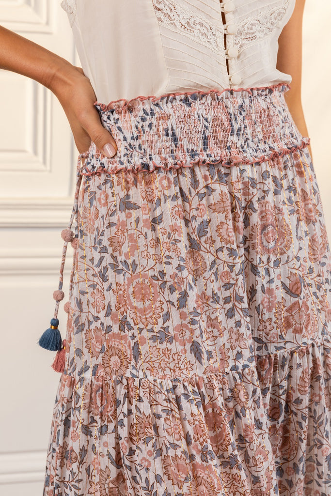 Poupette St Barth Long Skirt Ariel