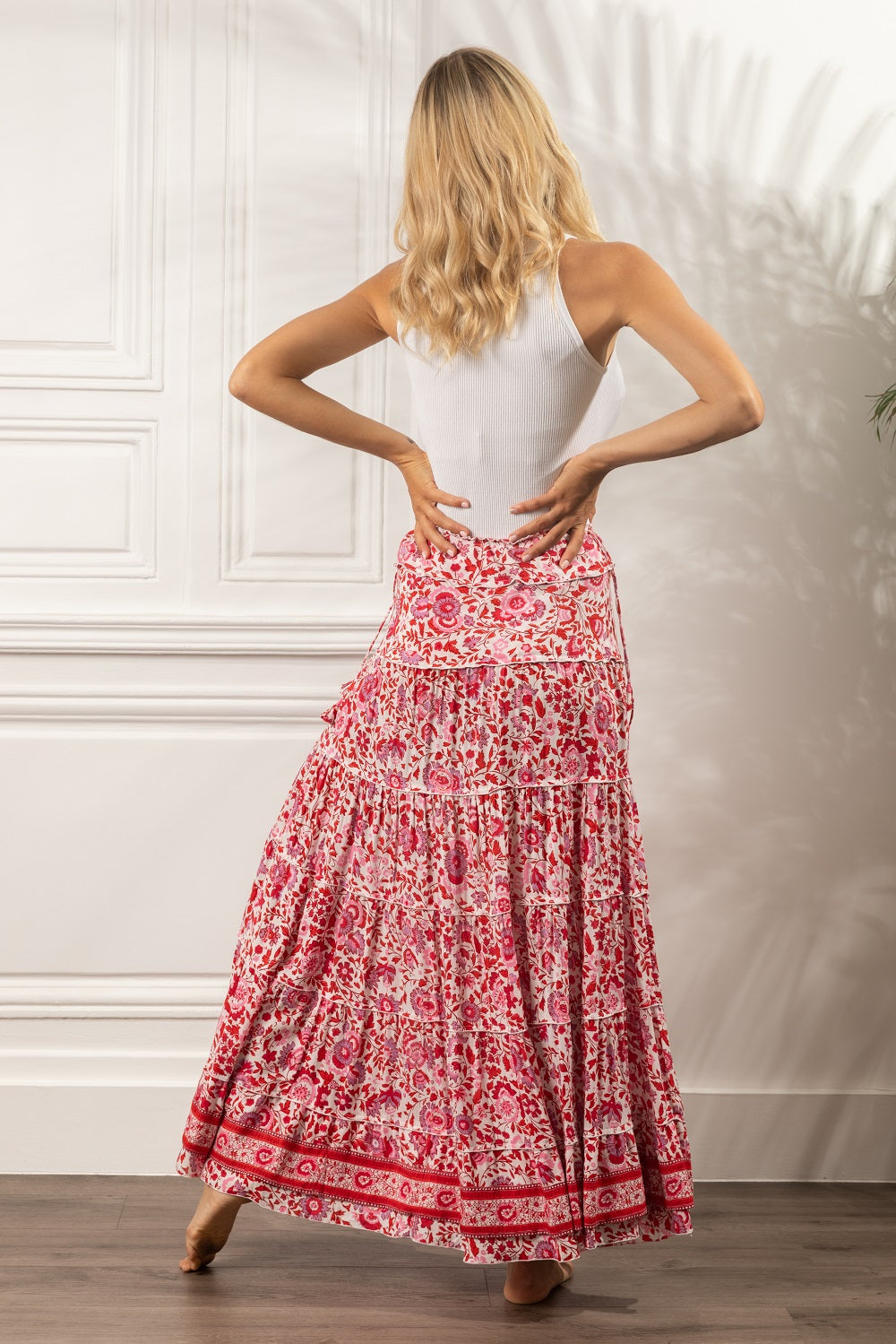 Poupette St Barth Long Skirt Camila