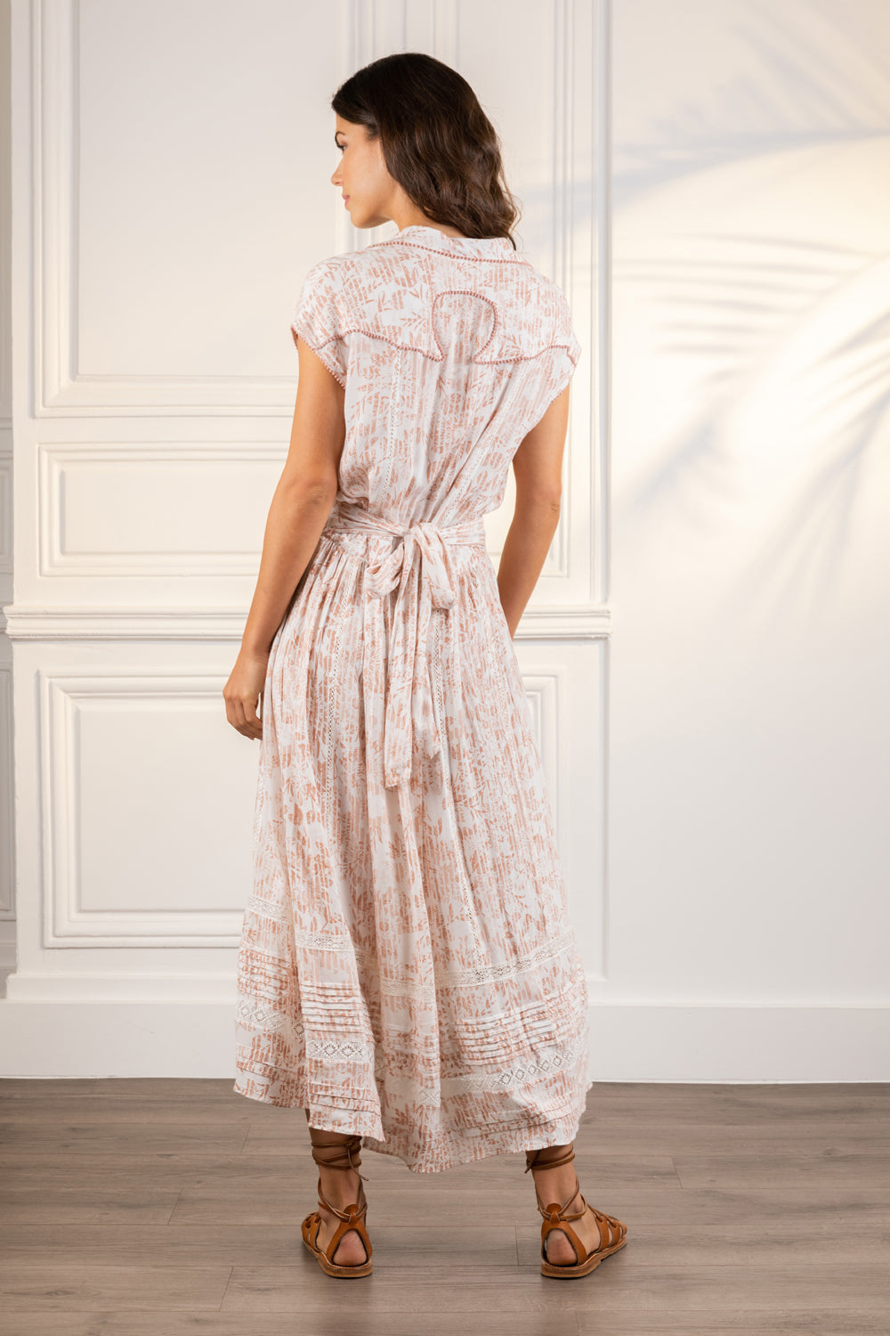 Poupette St Barth Midi Dress Margo