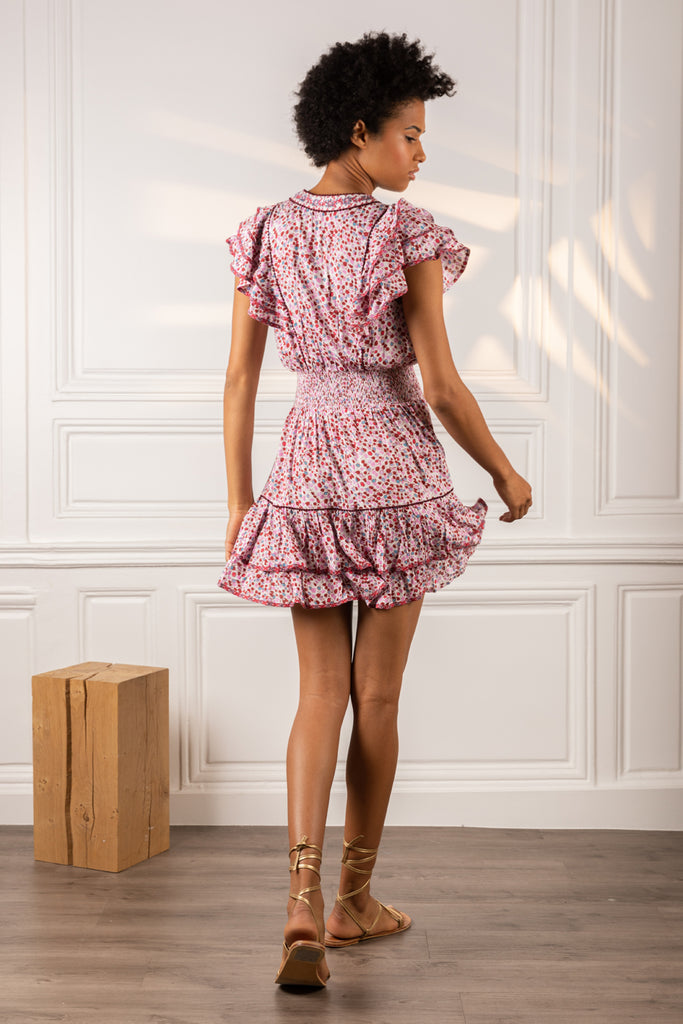 Poupette St Barth Mini Dress Camila