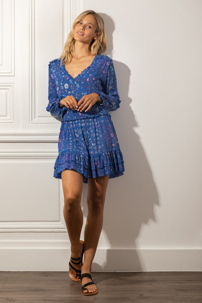 Poupette St Barth Mini Dress Ilona