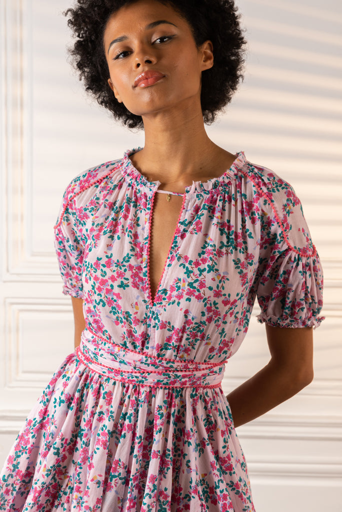 Poupette St Barth Mini Dress Ivy