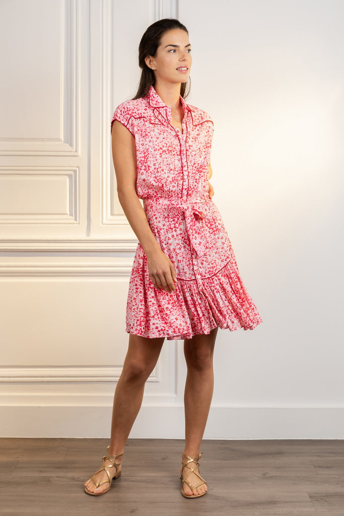 Poupette St Barth Mini Dress Margo