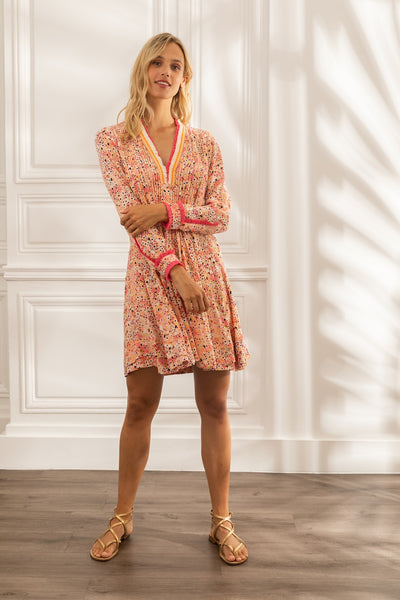 Poupette St Barth Mini Dress Ola