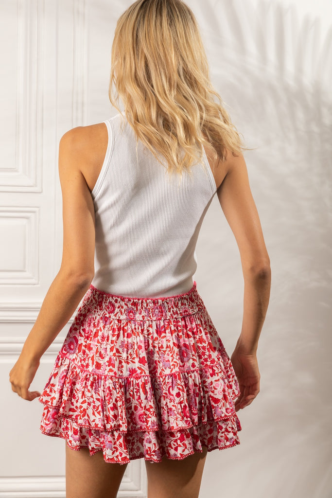 Poupette St Barth Mini Skirt Camila