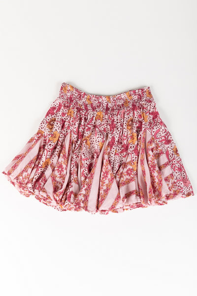 Poupette St Barth Kids Mini Skirt Lisa