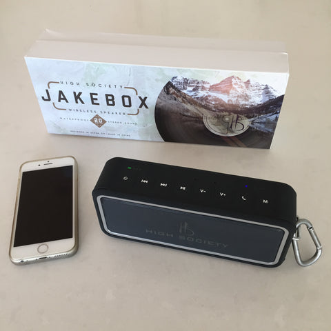JakeBox Wireless Speaker from High Society