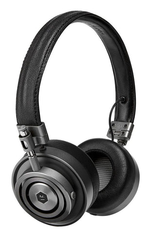 Master & Dynamic MH30 Headphones (gunmetal w/ black leather)