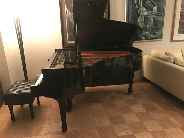 Steinway Model L 1990 High Gloss