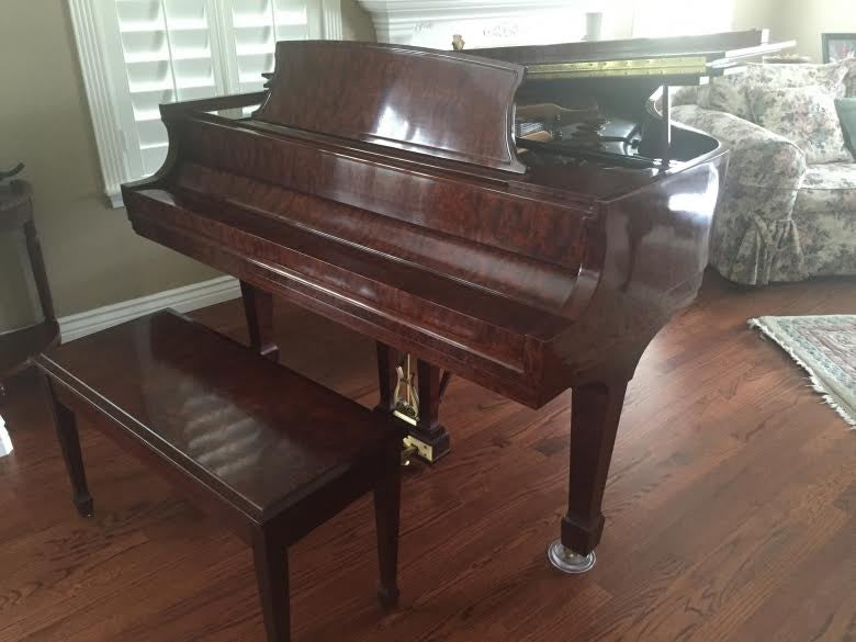 Steinway Model M 2006 Kewazinga Bubinga Crown Jewel