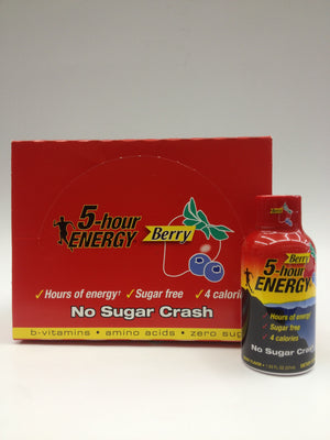 5 Hour Energy Berry 12 Pack