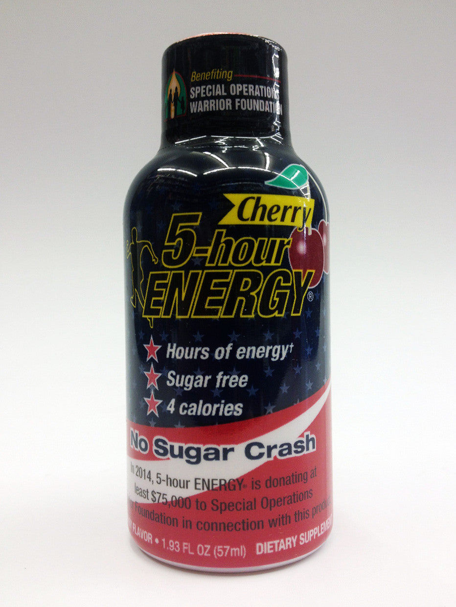 5 Hour Energy Cherry