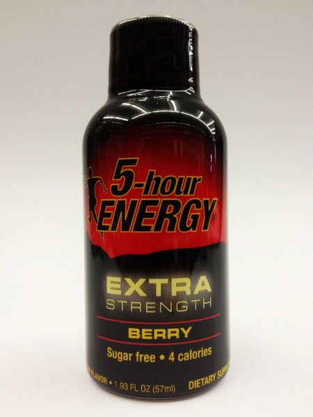 5 Hour Energy EXTRA Berry