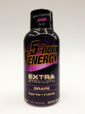 5 Hour Energy EXTRA Grape