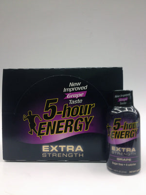 5 Hour Energy EXTRA Grape 12 Pack