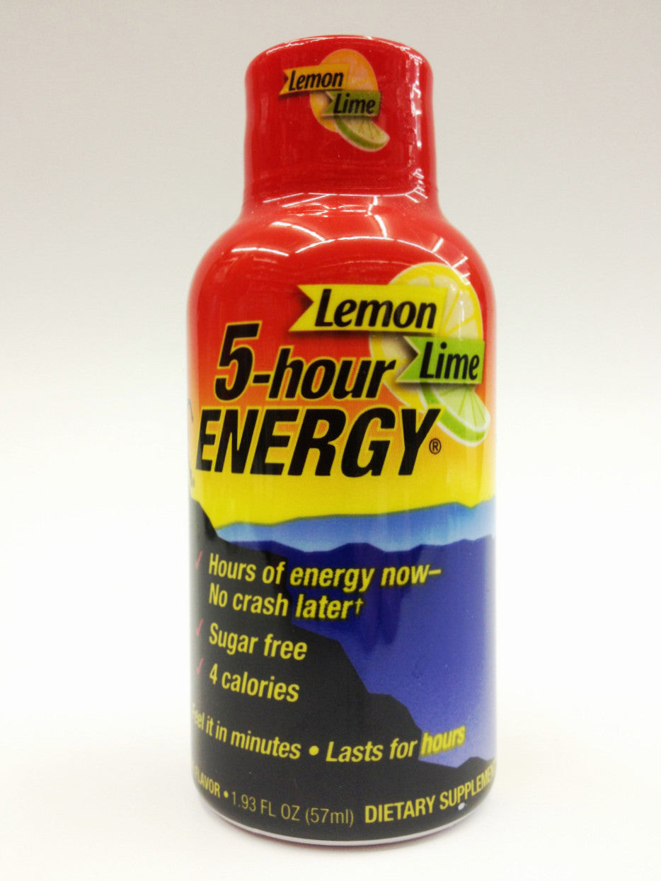 5 Hour Energy Lemon Lime
