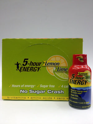 5 Hour Energy Lemon Lime 12 Pack
