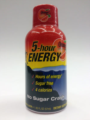 5-Hour Energy Orange