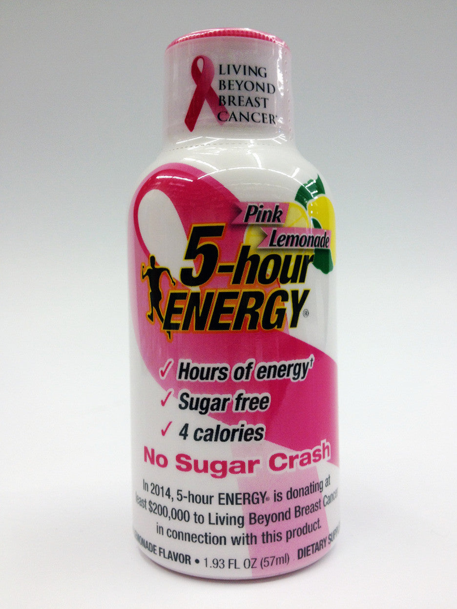5 Hour Energy Pink Lemonade