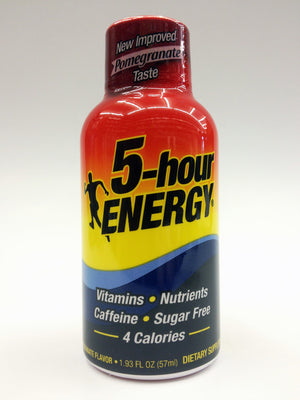 5 Hour Energy Pomegranate