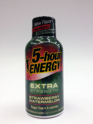 5 Hour Energy Strawberry Watermelon