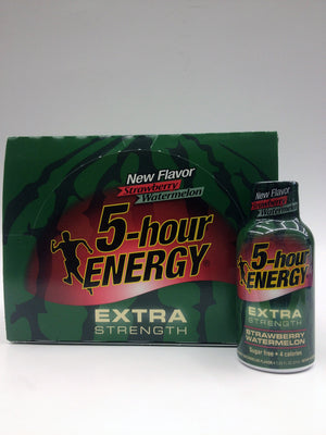 5 Hour Energy Strawberry Watermelon 12 Pack