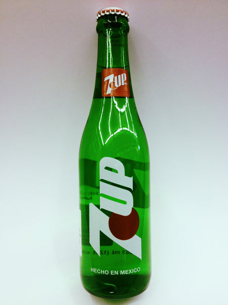 7-Up Mexico Bottle