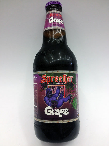 Sprecher Grape Soda Soda Pop Shop
