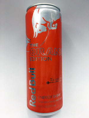 Red Bull Orange Edition Tangerine