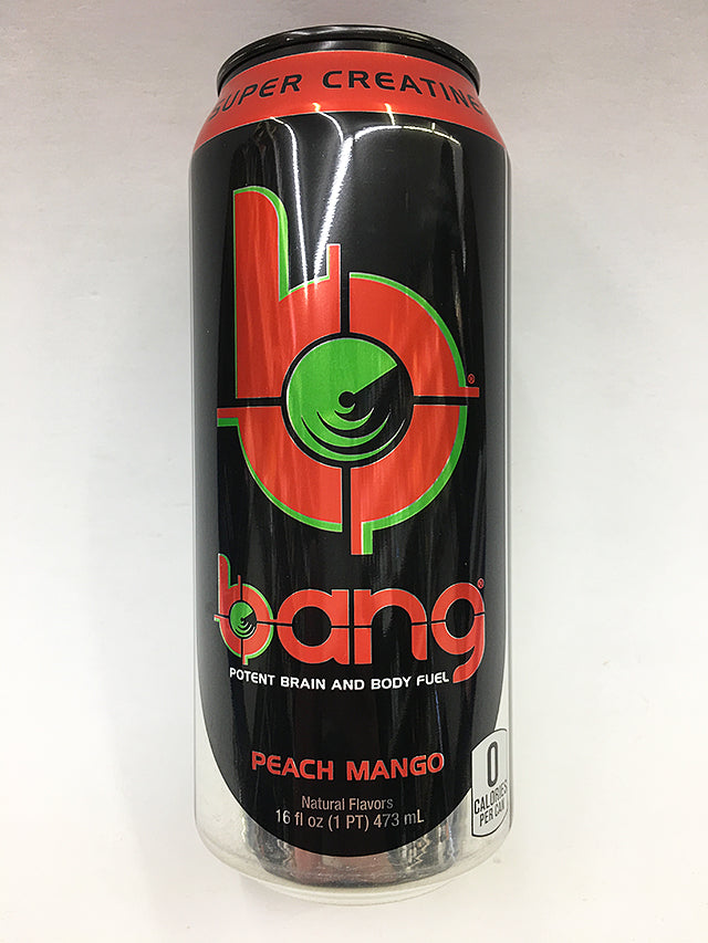 bang Peach Mango 16oz