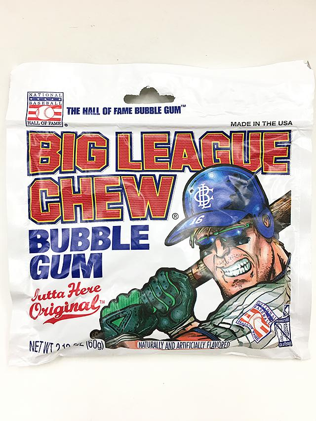 Big League Chew Outta Here ORIGINAL Bubble Gum