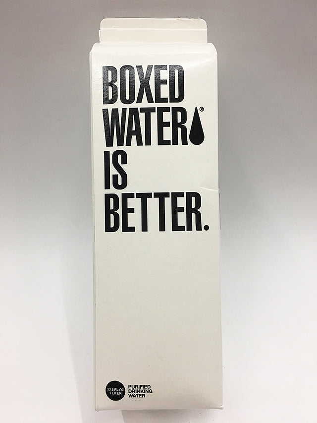 Boxed Water Is Better 1 Liter