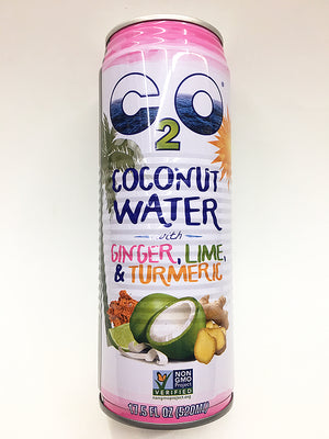 "C2O Original Coconut Water ""with"" Ginger Lime Turmeric"