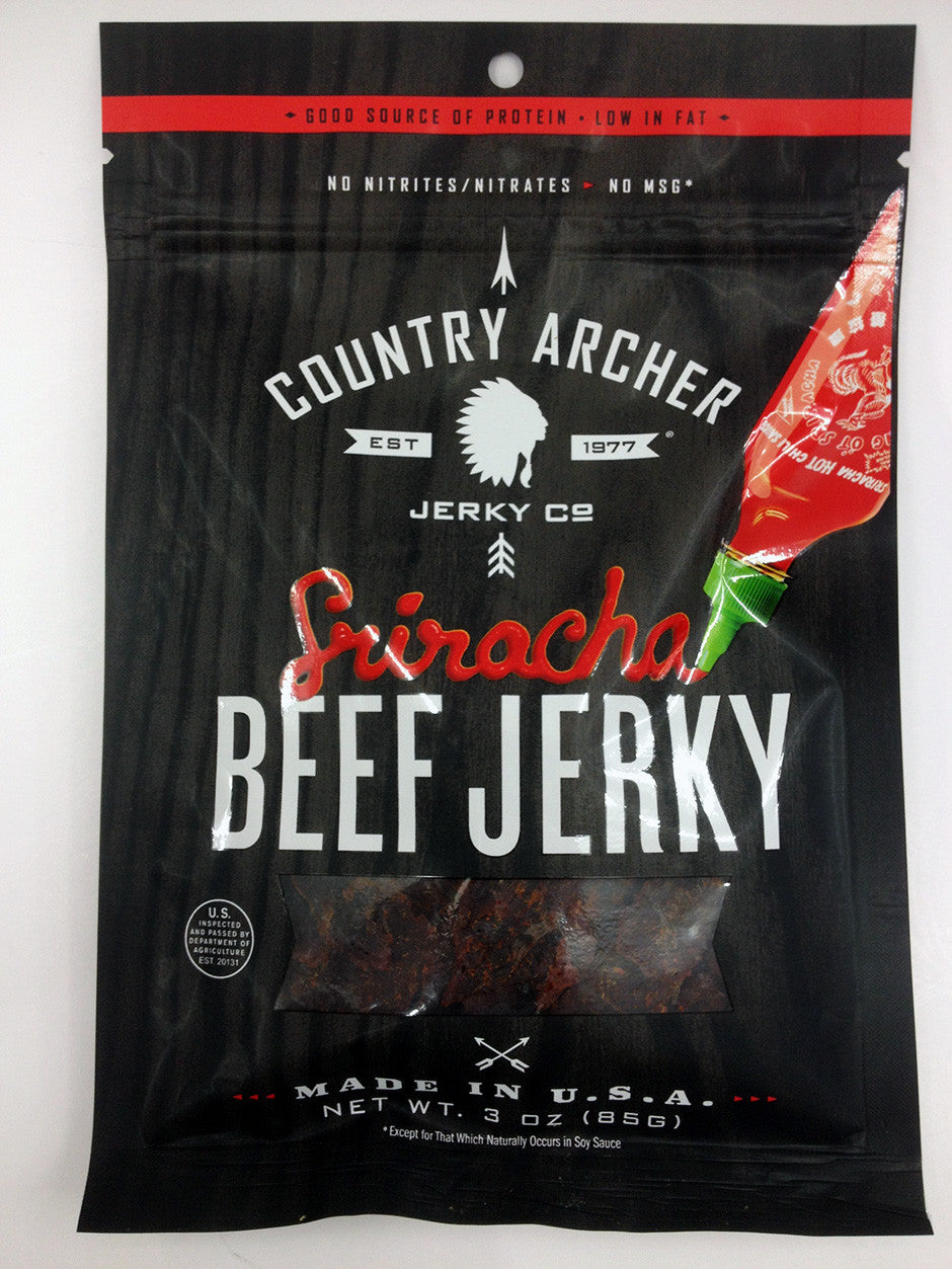 Country Archer Sriracha Jerky