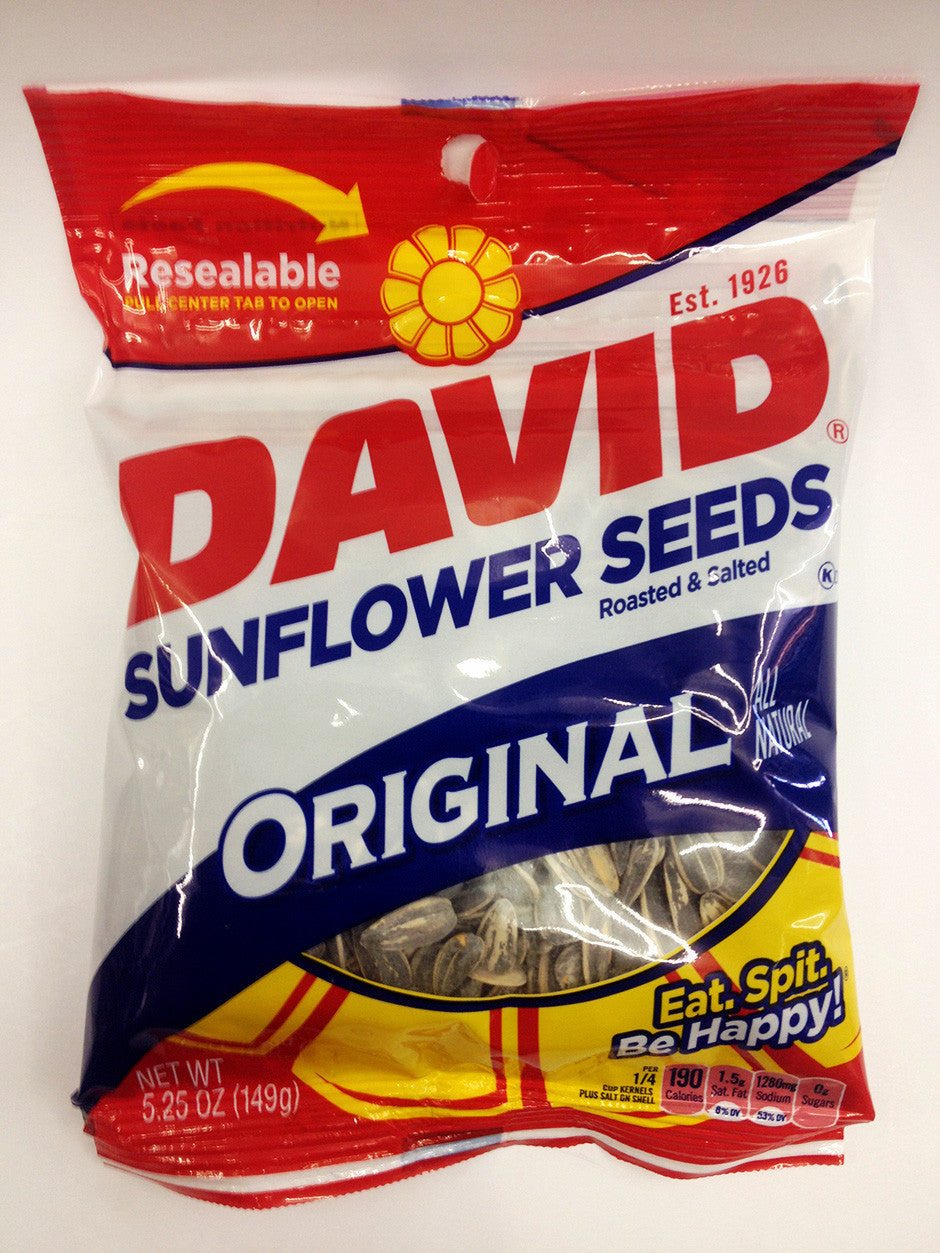 David Original Sunflower Seeds
