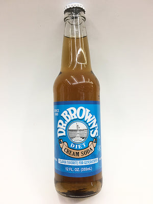 Dr. Brown's Diet Creme Soda