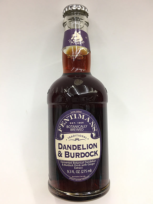 Fentimans Botanically Brewed Dandelion & Burdock Soda