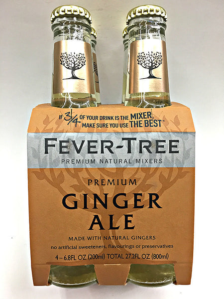 Fever Tree Ginger Ale 4 Pack