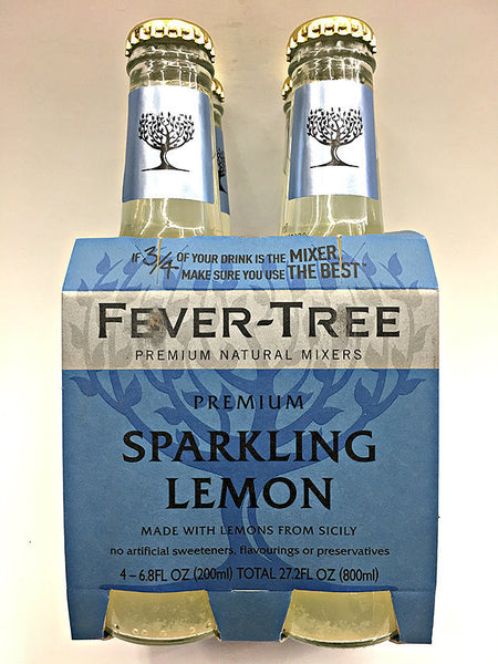 Fever-Tree Sparkling Lemon 4 Pack