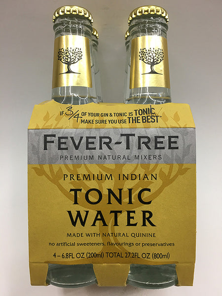 Fever Tree Premium Indian Tonic Water 4 Pack