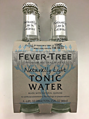Fever Tree Naturally Light Tonic Water 4 Pack