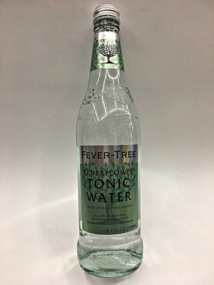 Fever-Tree Handpicked Elderflower Tonic Water 500ml