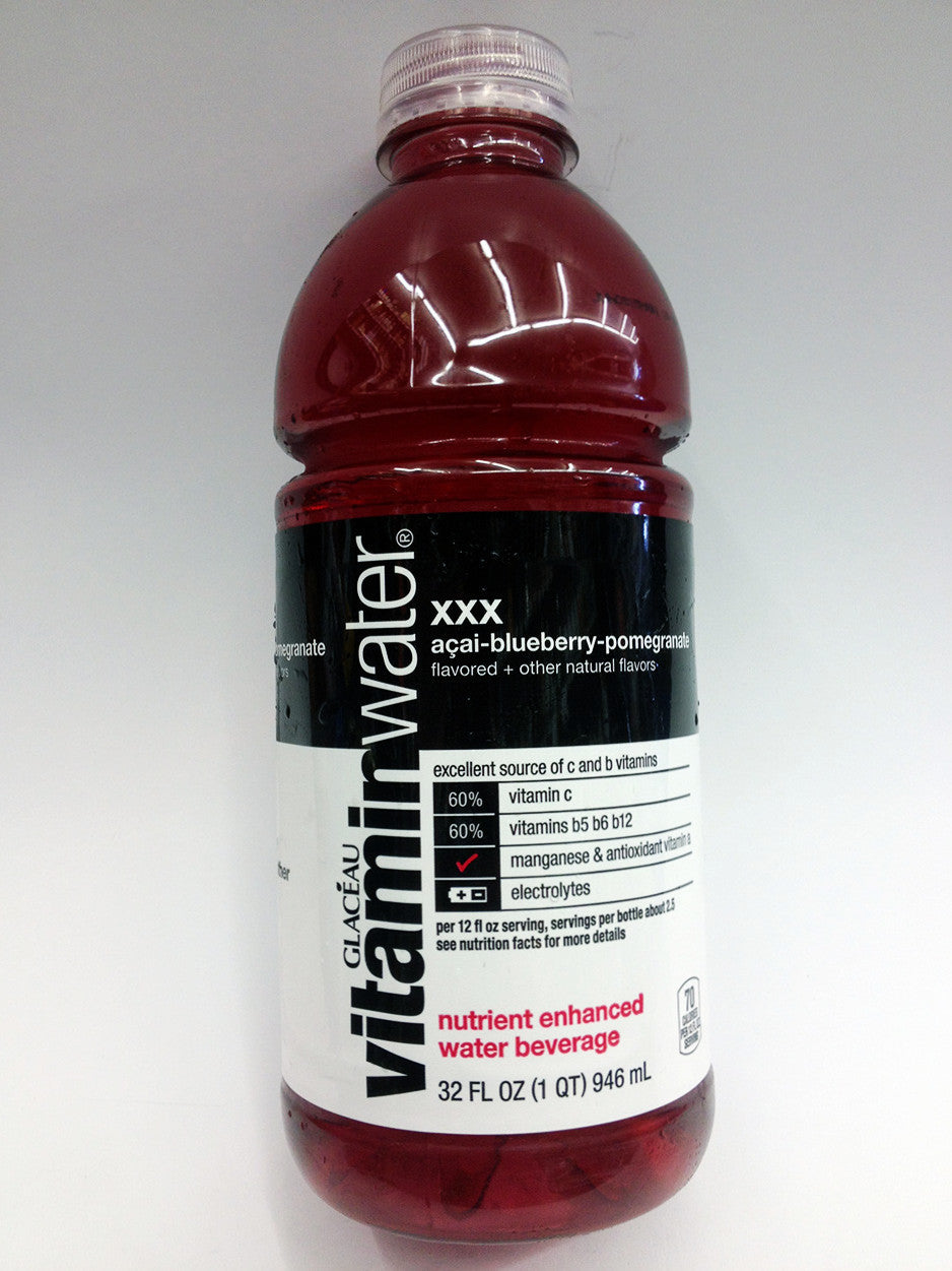 Glaceau Vitamin Water XXX Acai Blueberry Pomegranate