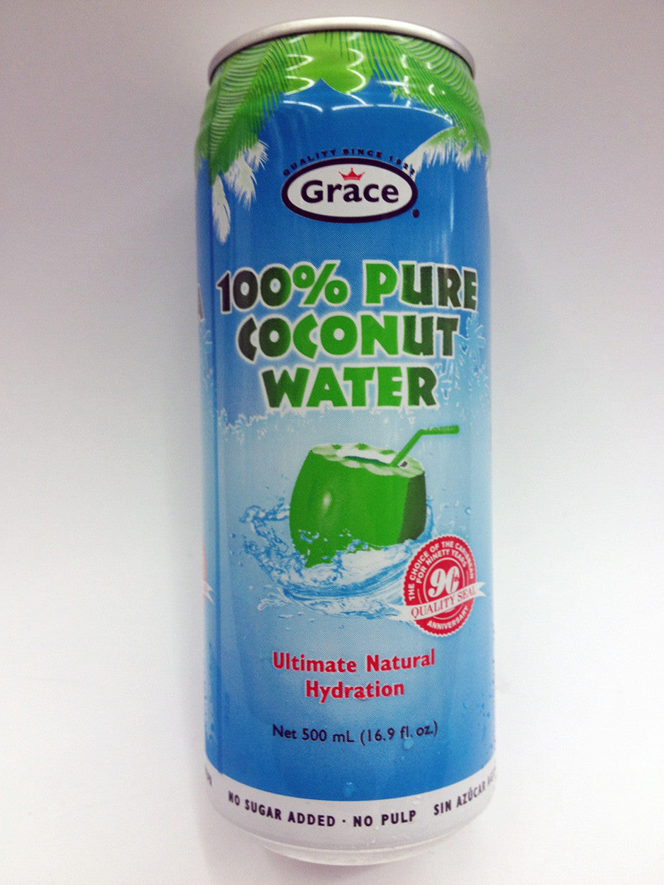 Grace 100% Pure Agua De Coco Natural Coconut Water