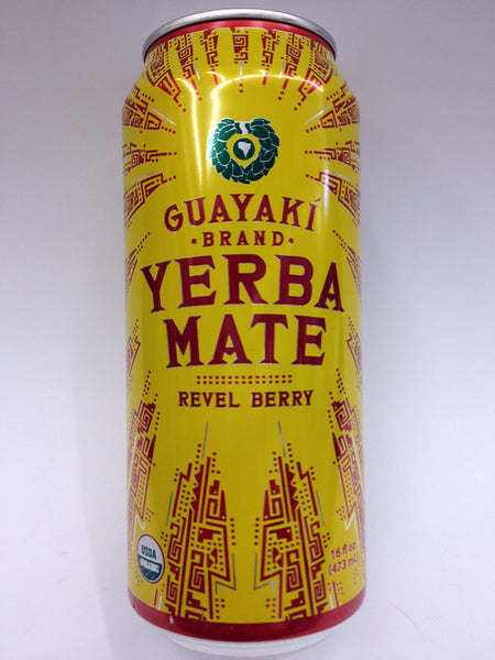 Guayaki Yerba Mate Revel Berry