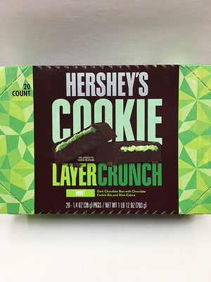 Hershey's Cookie Layer Crunch Mint Crème 24 Count / Regular Size