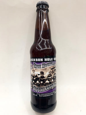 Jackson Hole High Mountain Huckleberry Soda