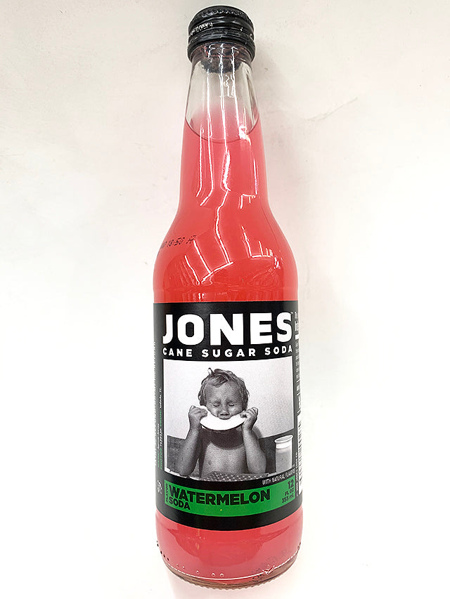 Jones Watermelon Pure Cane Soda