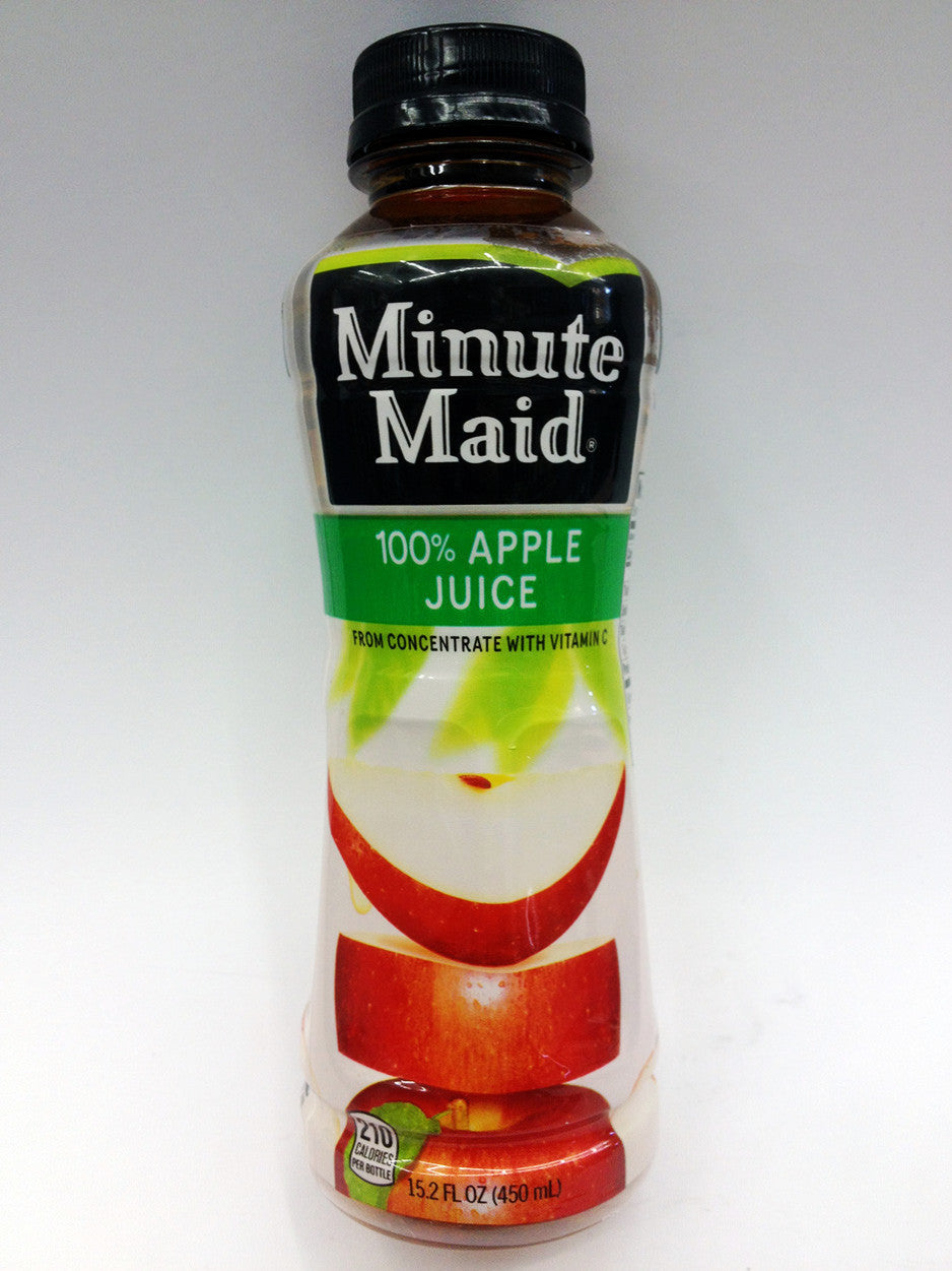 Minute Maid 100% Apple Juice