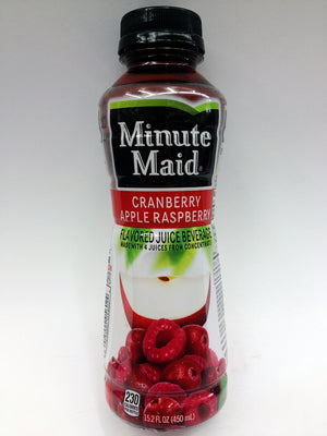 Minute Maid Cranberry Apple Raspberry Juice